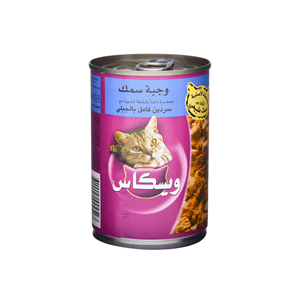 Whiskas Fish Menus with Sardine In Jelly 400gm