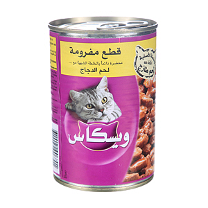 Whiskas Tasty Mince Chicken 400gm