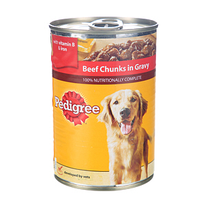 Pedigree Chum Chunks Beef 400gm