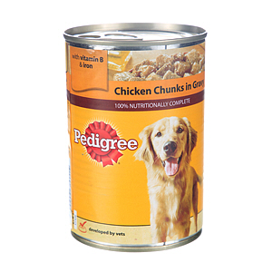 Pedigree Chum Chunks Chicken 400gm