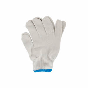 Mega White Cotton Gloves