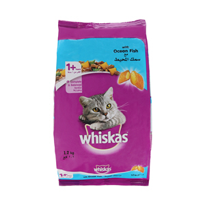Whiskas Ocean with Fish 1.2Kg