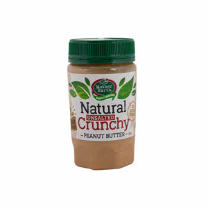 Mother Earth Peanut Butter Crunchy Natural 380gm