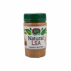Mother Earth Peanut Butter Lsa Blend Natural 380gm