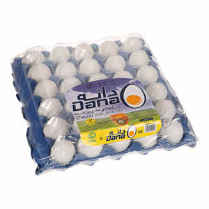 Dana Fresh Egg Medium White 30'S