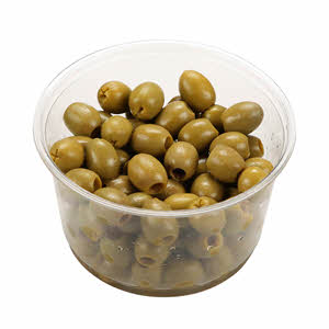 Fresh Olive Green Pitted Spain 250gm